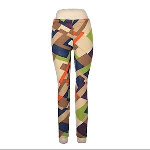 Funky Color Block Leggings